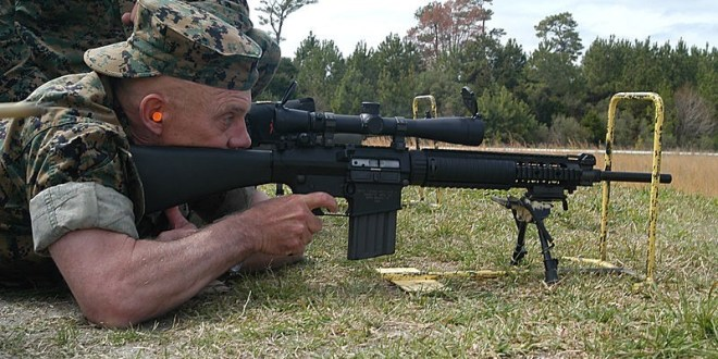 U.S. Marine Corps turns to Knight's Armament for small arms suppressors | Defense Blog