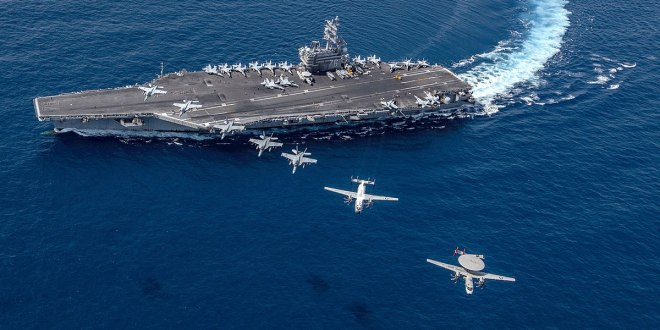 Carrier Ronald Reagan conducts air operations in South China Sea | Navy Times