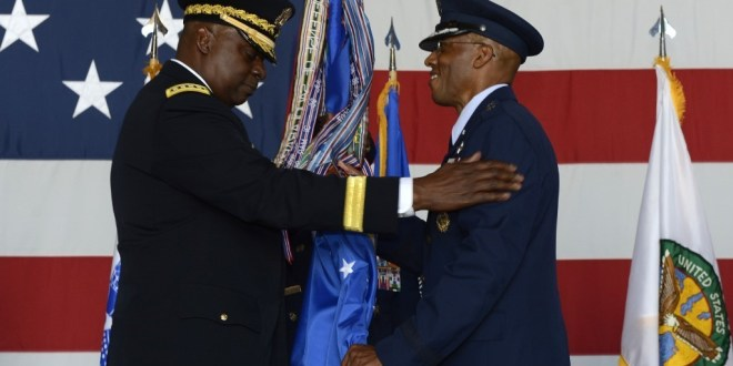 Brown formally installed as 22nd Air Force Chief of Staff | U.S. Air Force