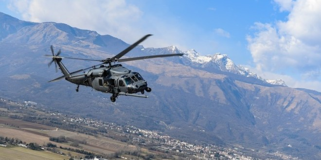 This is the first photo ever of a stealthy Black Hawk helicopter | The Drive
