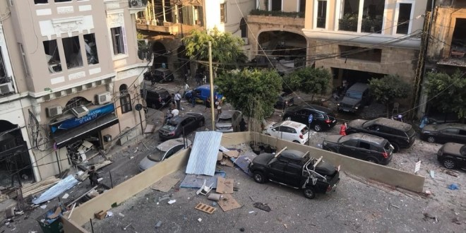 Trump says US generals feel Beirut blast was likely an 'attack' | Military Times