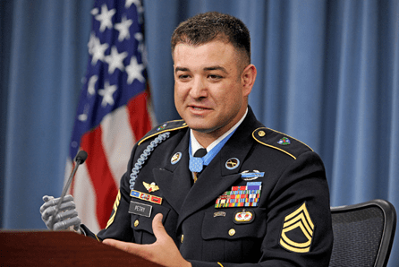Leroy Petry has a message for whoever stole his Medal of Honor license plate | Military Times