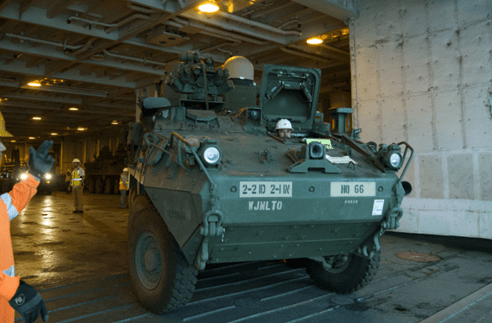 Watch the Army's new missile-hauling Stryker in action   Task & Purpose