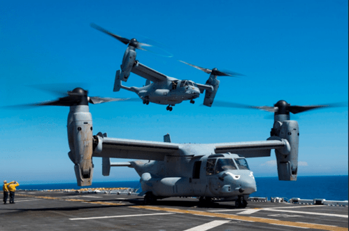 Marine Corps deploys oceanographic sensors From Ospreys | Defense Industry Daily