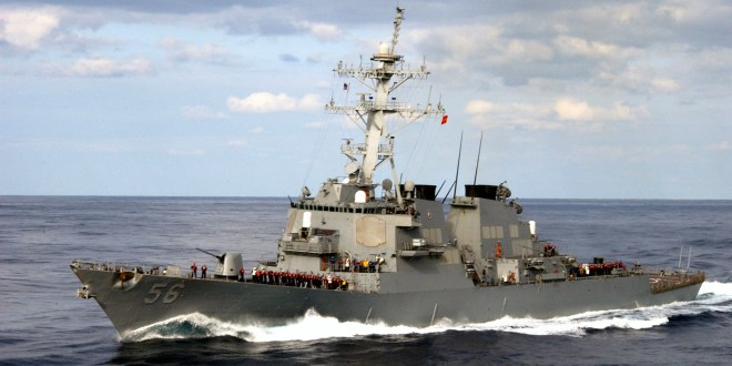 U.S. Navy denies Russian warship forced its destroyer out of disputed Pacific waters- Updated | The Drive, US & World Report News