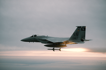 Check out the F-15 Eagle in Action | We are the Mighty