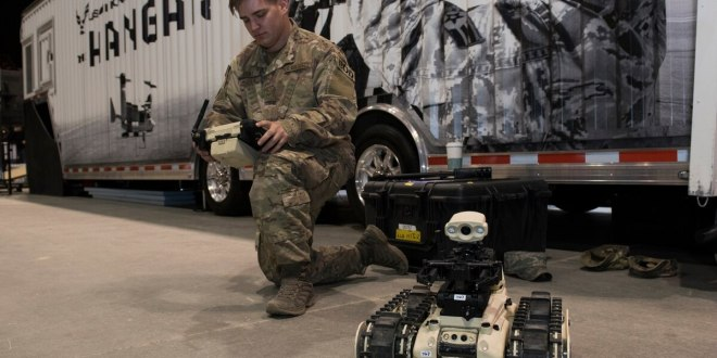 The US Air Force wants to buy a big robot to help with bomb disposal | Defense News