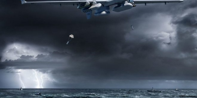 Off the California coast, the US Navy tests hunting subs with an aerial drone | Defense News
