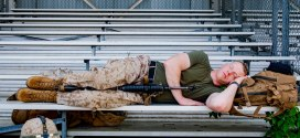 A definitive ranking of troops' extreme napping positions | Military Times