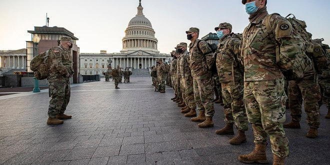 GOP lawmakers question continued presence of National Guard at Capitol | Military Times