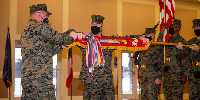 Storied Marine infantry regiment deactivated as Corps carries on with force redesign | Marine Corps Times