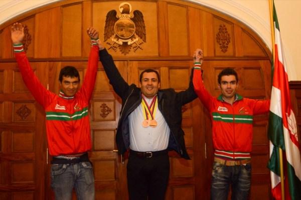 ciclistas con medalla en nacionales