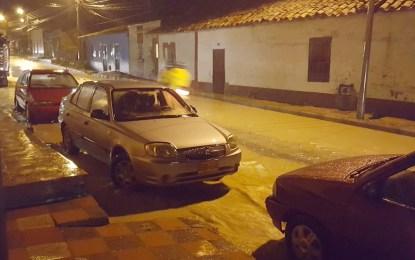Sogamoseños se quejan por continuas inundaciones en la ciudad
