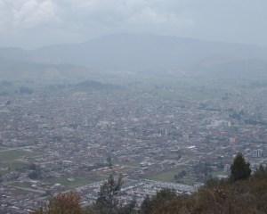 La minería sigue contaminando el aire del valle de Sogamoso