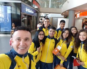 Deportistas sogamoseños rumbo a los Juegos Suramericanos