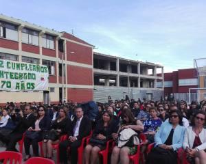 La institución educativa Integrado Joaquín González Camargo celebró los 70 años