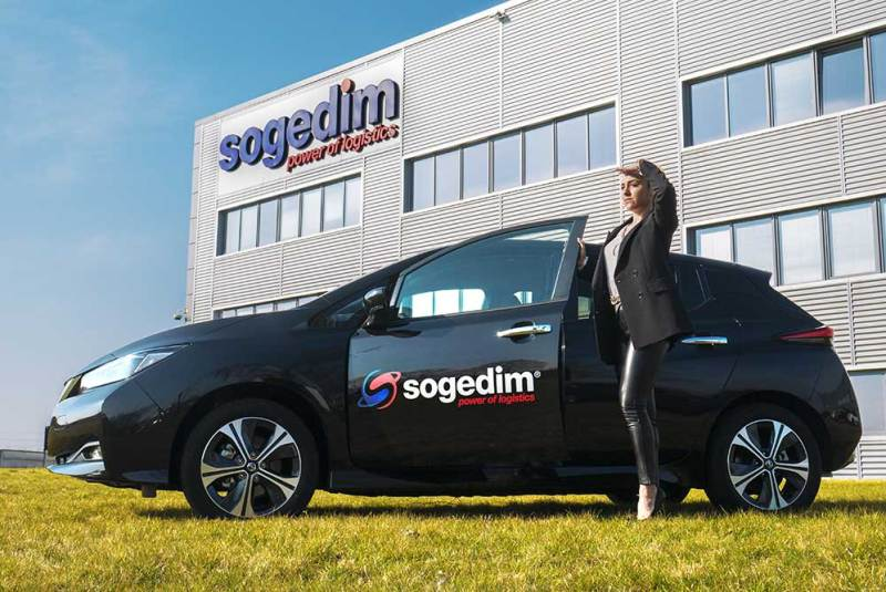 Sogedim: a new green fleet vehicles is now active