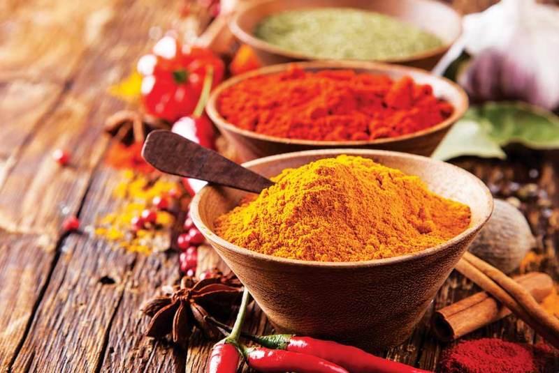 Servizi logistici di spezie, erbe aromi e ingredienti alimentari