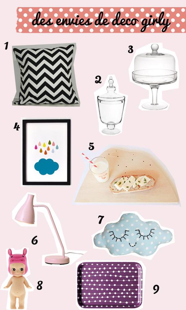 comme des envies deco le so girly blog. Black Bedroom Furniture Sets. Home Design Ideas