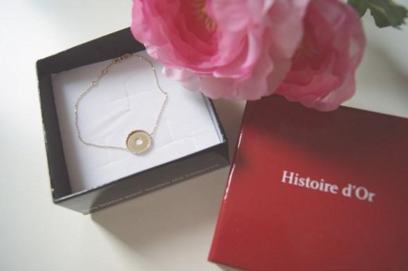 bracelet venus histoire d'or
