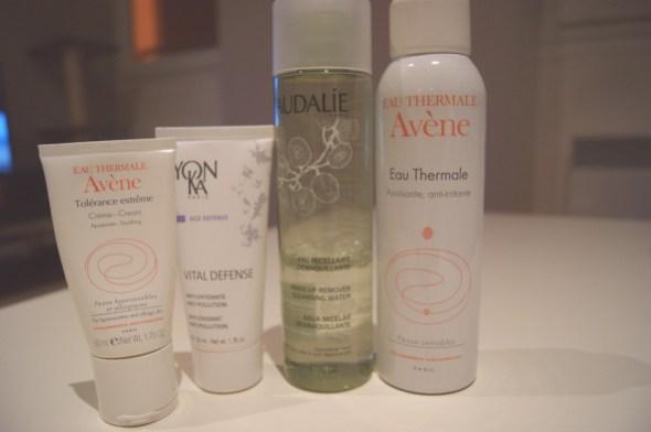 produits peau sensible visage
