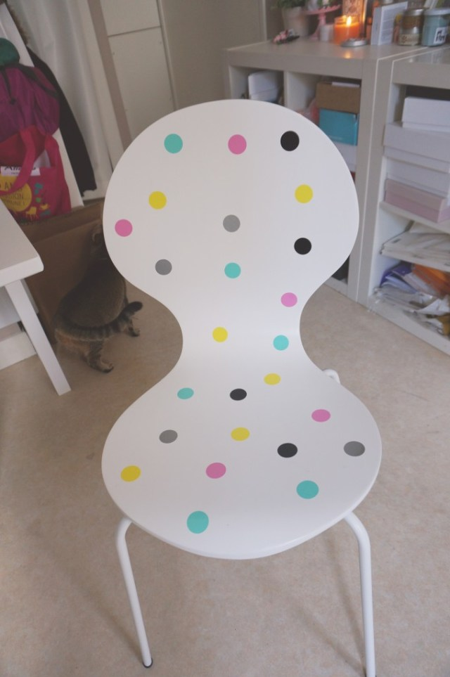 diy customiser chaises stickers