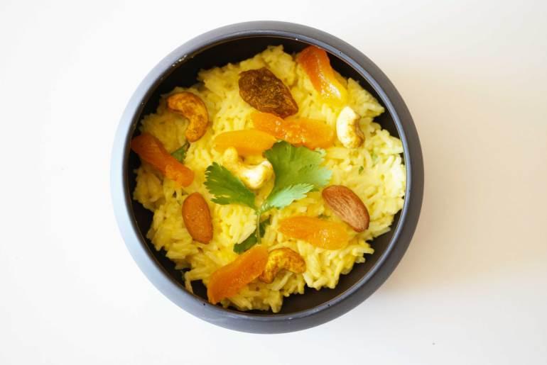 recette riz à l'indienne taureau ailé