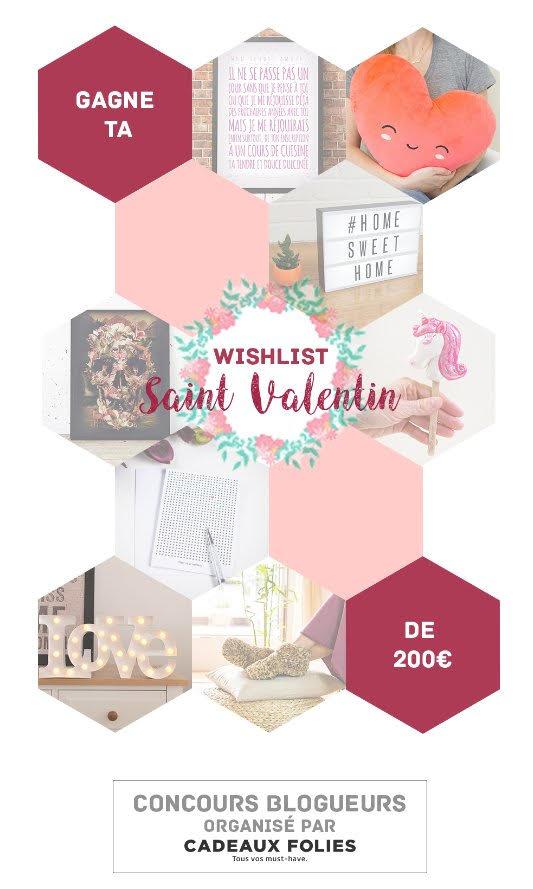 concours cadeaux saint valentin cadeaux folies