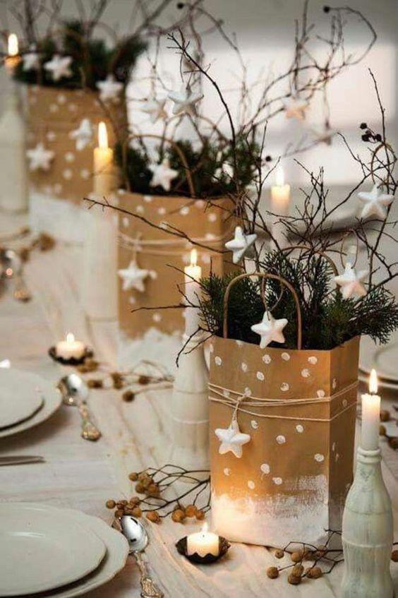 Deco 10 Tables De Noel Reperees Sur Pinterest Le So Girly Blog