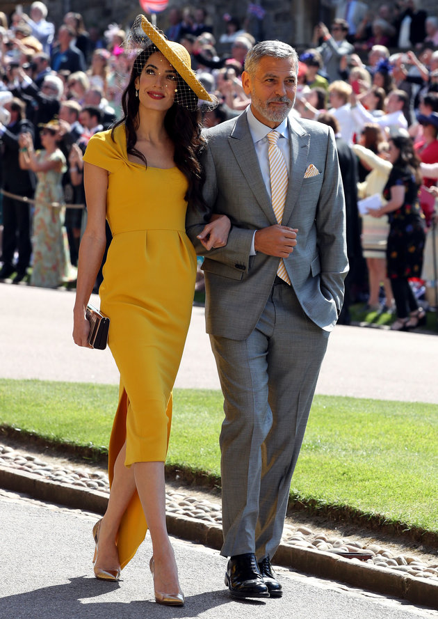 amal and george clooney royal wedding