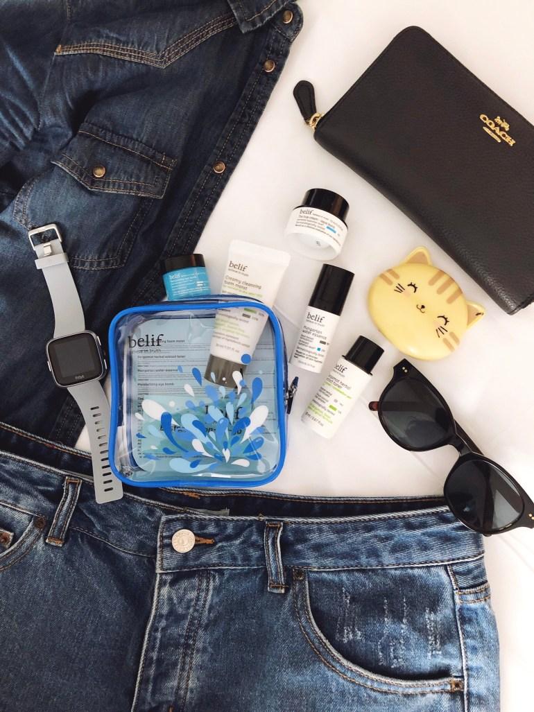 travel kit belif
