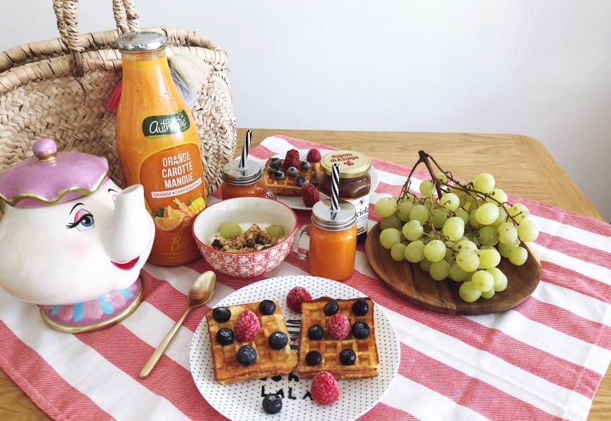 Un petit déjeuner gourmand & healthy avec les gaufres sans gluten Schär