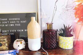 diffuseur d'huiles essentielles design