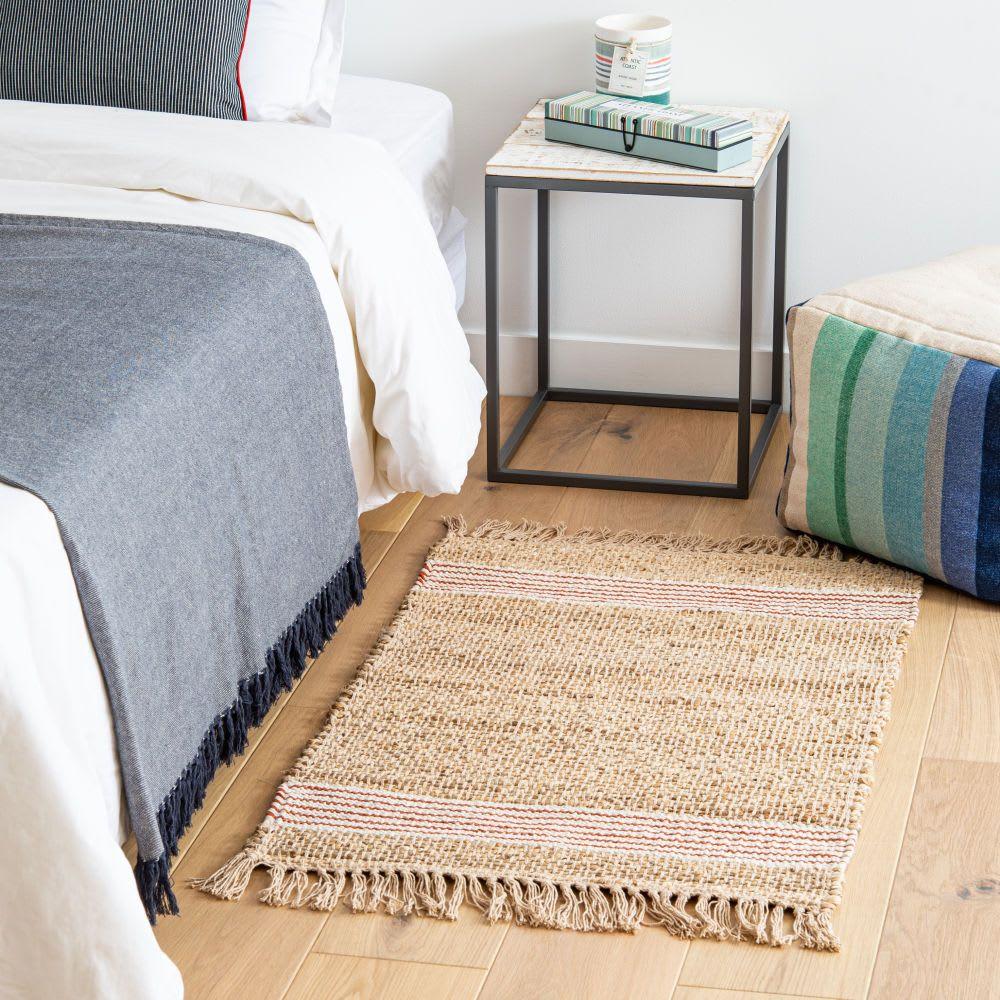 tapis coton jute maisons du monde le