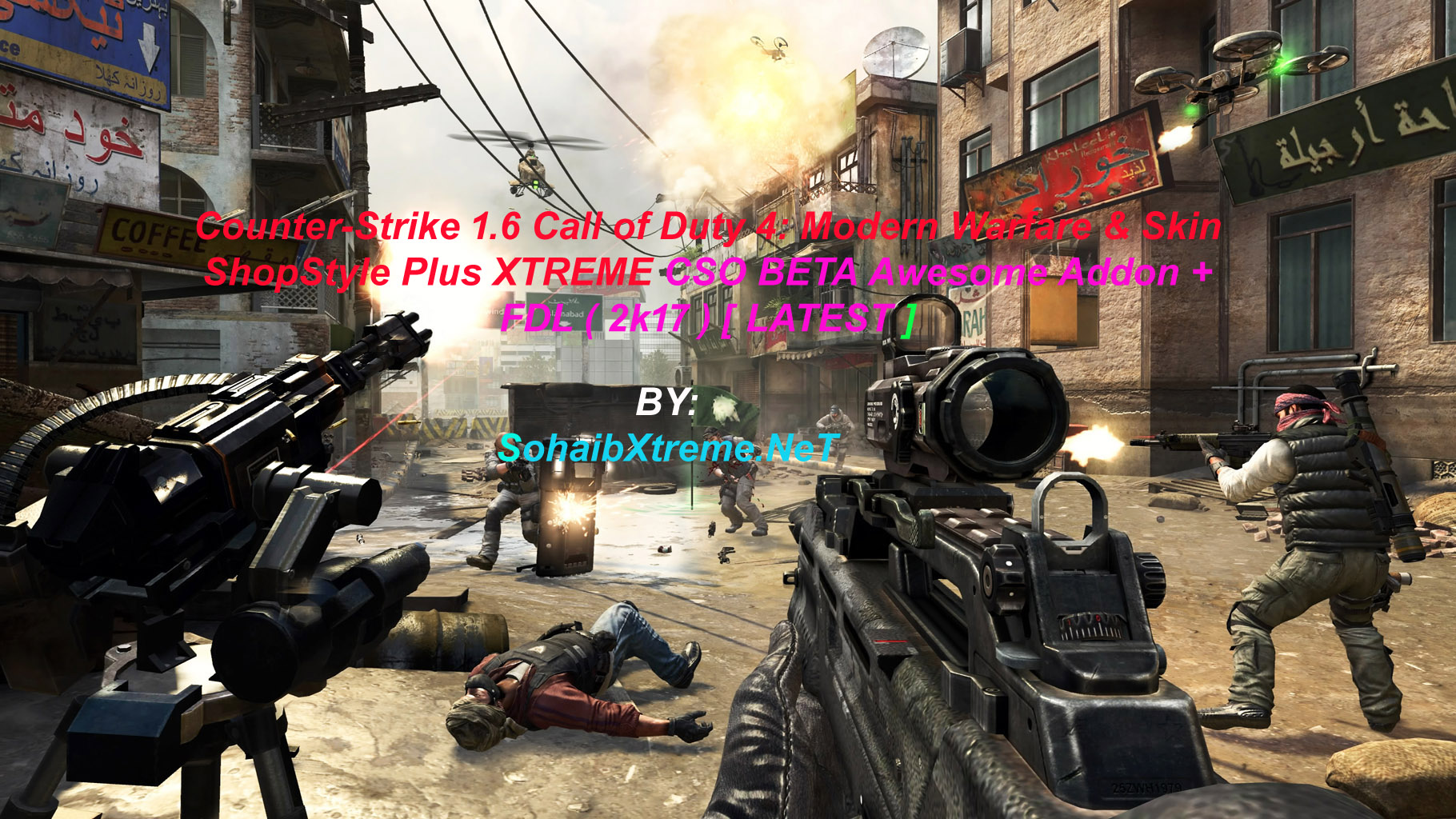 Counter-Strike 1 6 CSO Call of Duty 4: Modern Warfare XTREME