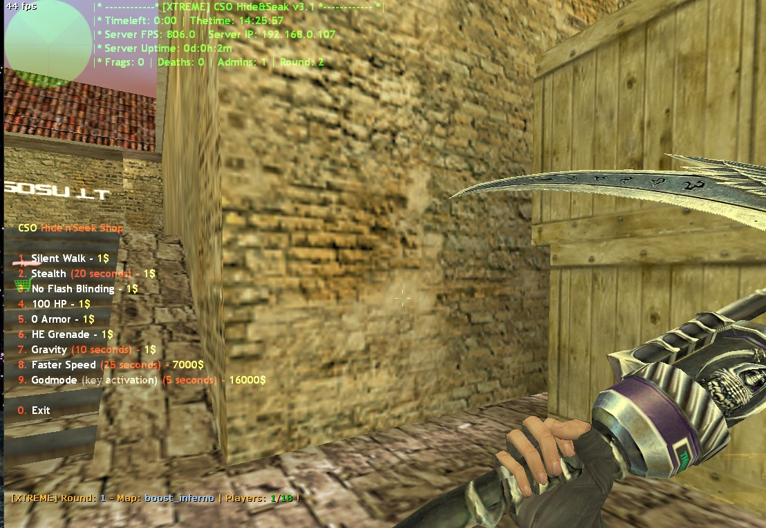 Counter-Strike 1.6 Hide and Seek 3.1 XTREME Addon Download [ 2k18 ]