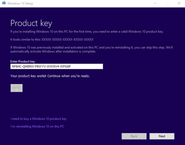 Windows 10 Pro With Genuine Product Key Download  2k18