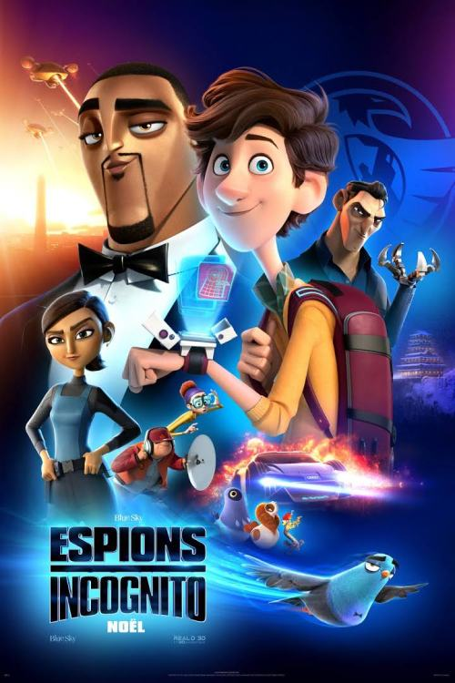 Watch Spies In Disguise (2019) Movie Full HD [ Download ]