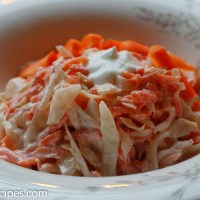Kålsalat med gulrot