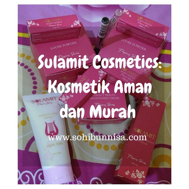 Sulamit Cosmetics: Kosmetik Aman dan Murah