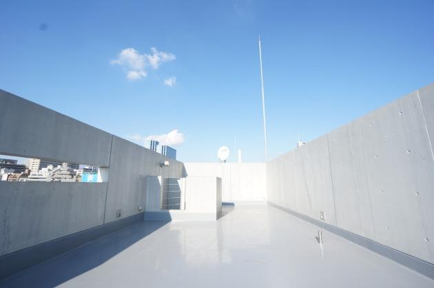 リフュージュ アイ サウス702号室ルーフバルコニー|SOHO東京