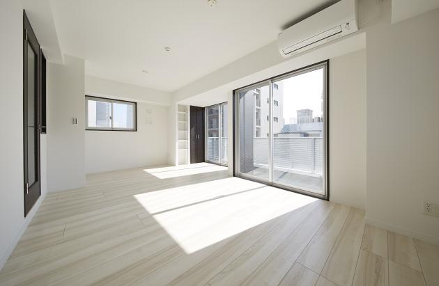 Kukai Terrace中目黒901号室リビング|SOHO東京