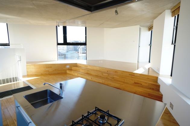 STEPS702号室キッチン|SOHO東京
