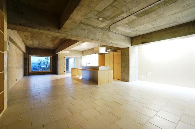 ヴィラヴィスタ102号室棚方面から|SOHO東京