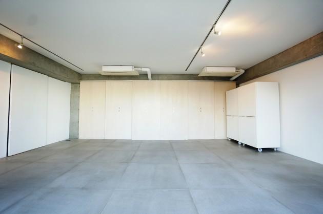 クラールハイト三宿305号室メゾネット上LDK仕切り戸閉めた所|SOHO東京