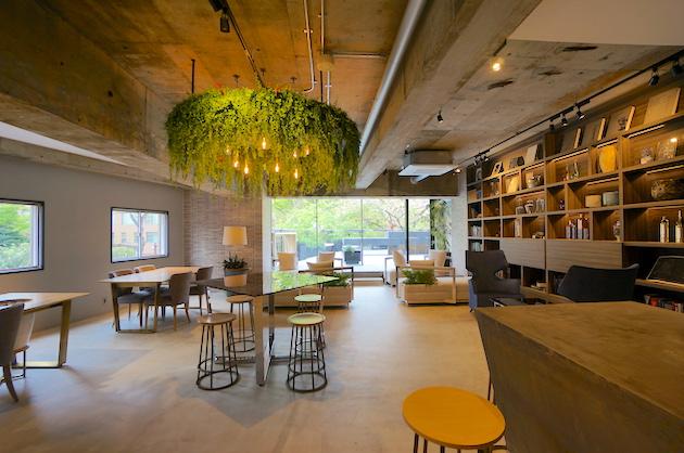 田町、GREEN & HOTELをテーマにしたリノベオフィス<p>[港区/20万~/22㎡~]