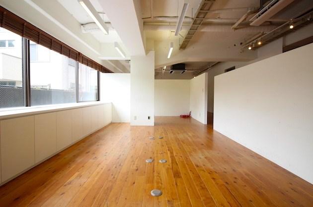 【募集終了】南青山骨董通りそば。希少な無垢床ワンフロアオフィス。