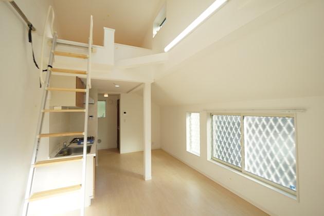恵比寿。3階建て築浅メゾネットSOHO。<p>[渋谷区/26万/56㎡]