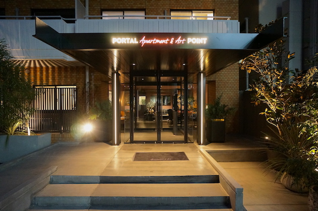 渋谷のリノベーションオフィス、アートと屋上を愉しむ