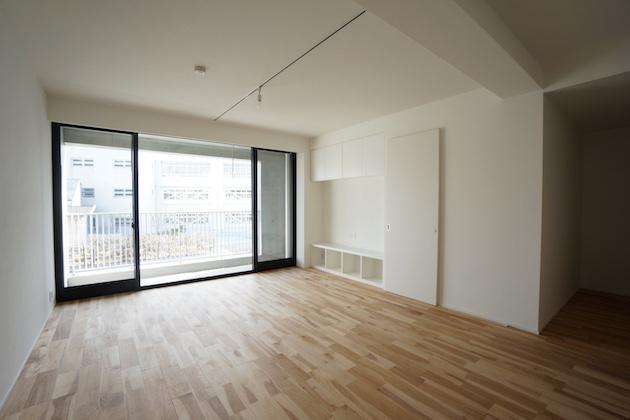 【募集終了】羽根木、テラスと開放的な屋内空間が印象的なデザイナーズ。
